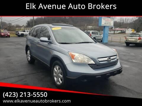 2008 Honda CR-V for sale at Elk Avenue Auto Brokers in Elizabethton TN