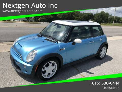 2005 MINI Cooper for sale at Nextgen Auto Inc in Smithville TN