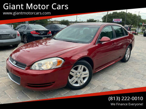 2011 Chevrolet Impala for sale at Giant Motor Cars in Tampa FL