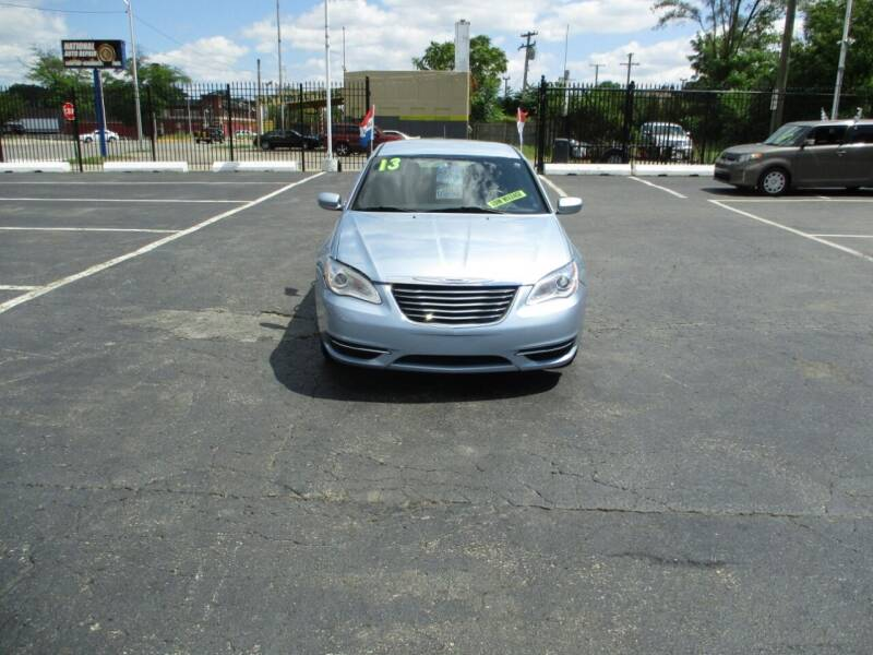 2013 Chrysler 200 for sale at Highway Auto Sales in Detroit MI