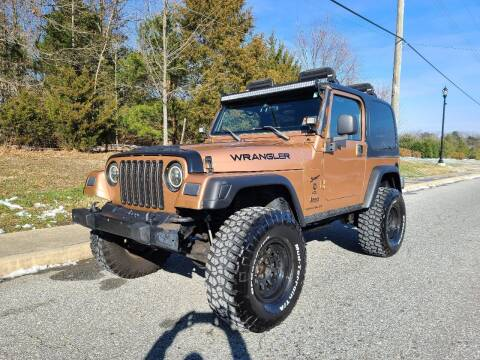 1999 Jeep Wrangler for sale at Premium Auto Outlet Inc in Sewell NJ