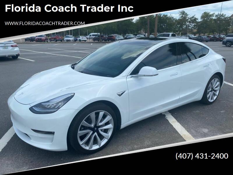 2019 Tesla Model 3 for sale at Florida Coach Trader Inc in Tampa FL