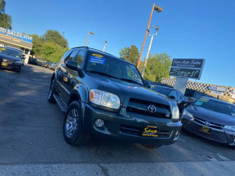 2007 Toyota Sequoia for sale at Save Auto Sales in Sacramento CA