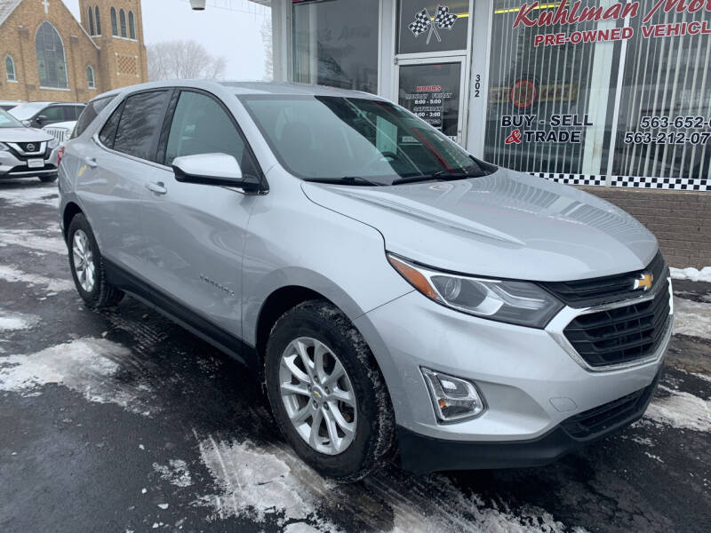 2019 Chevrolet Equinox for sale at KUHLMAN MOTORS in Maquoketa IA