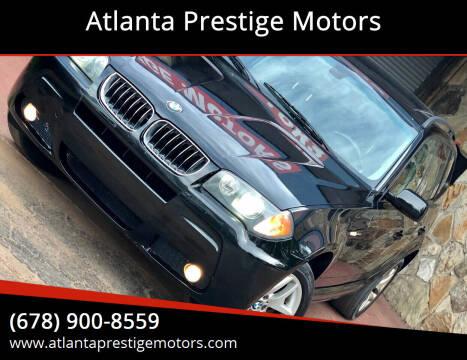 2006 BMW X3 for sale at Atlanta Prestige Motors in Decatur GA