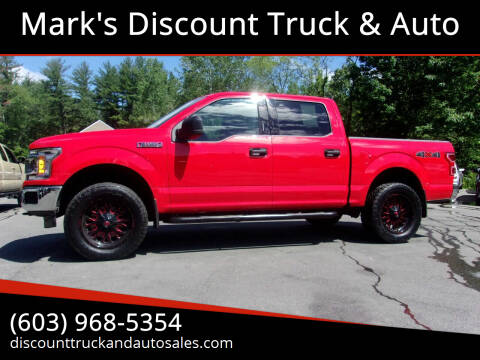 2020 Ford F-150 for sale at Mark's Discount Truck & Auto in Londonderry NH