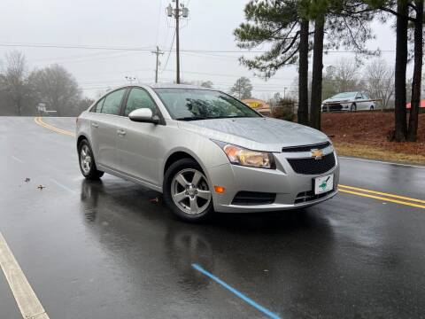 2014 Chevrolet Cruze for sale at THE AUTO FINDERS in Durham NC
