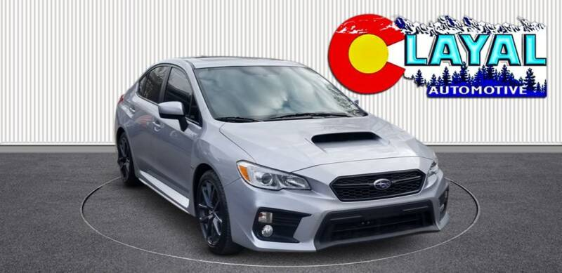 2019 Subaru WRX for sale at Layal Automotive in Englewood CO