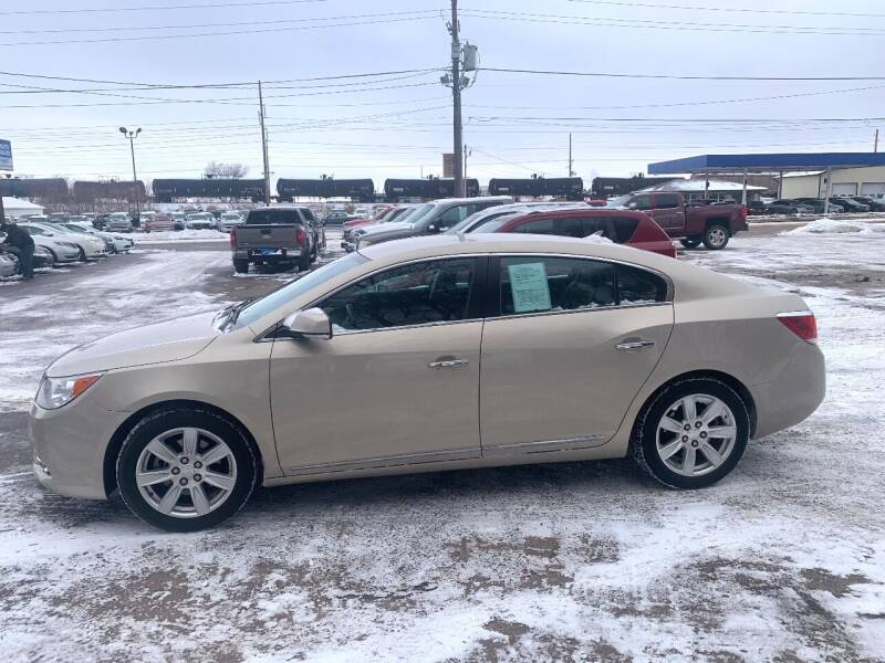 2011 Buick LaCrosse for sale at Iowa Auto Sales, Inc in Sioux City IA