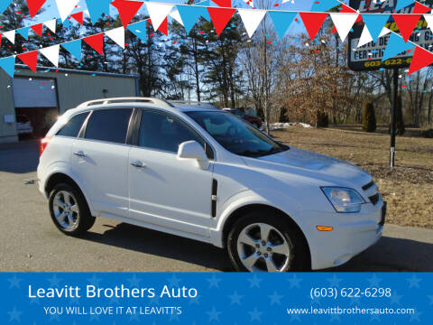 2014 Chevrolet Captiva Sport for sale at Leavitt Brothers Auto in Hooksett NH