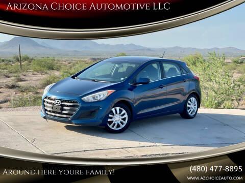 2016 Hyundai Elantra GT for sale at Arizona Choice Automotive LLC in Mesa AZ