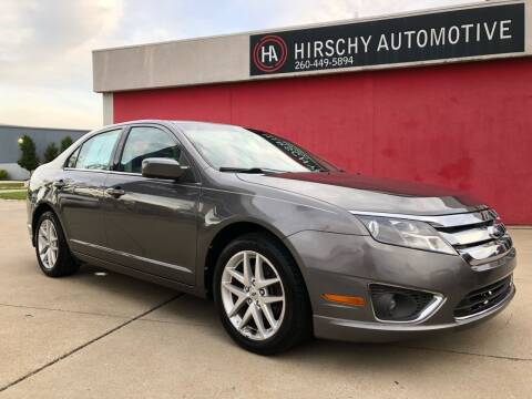 2011 Ford Fusion for sale at Hirschy Automotive in Fort Wayne IN