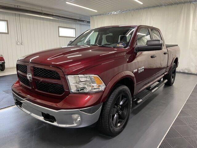 2018 RAM Ram Pickup 1500 for sale at Monster Motors in Michigan Center MI
