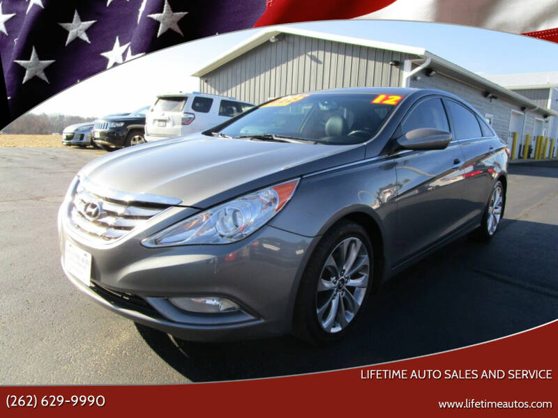 2012 Hyundai Sonata for sale at Lifetime Auto Sales and Service in West Bend WI