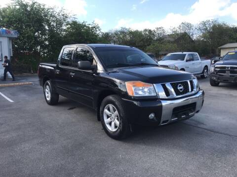 2014 Nissan Titan for sale at Auto Solution in San Antonio TX