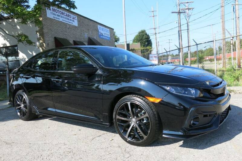 2021 Honda Civic for sale at VA MOTORCARS in Cleveland OH