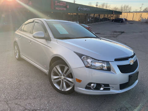 2014 Chevrolet Cruze for sale at FASTRAX AUTO GROUP in Lawrenceburg KY