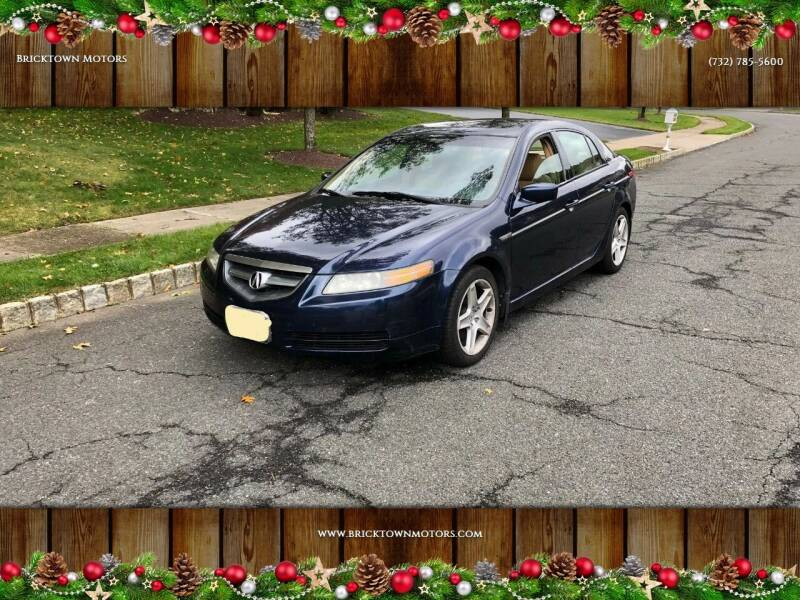 2004 Acura TL for sale at Bricktown Motors in Brick NJ