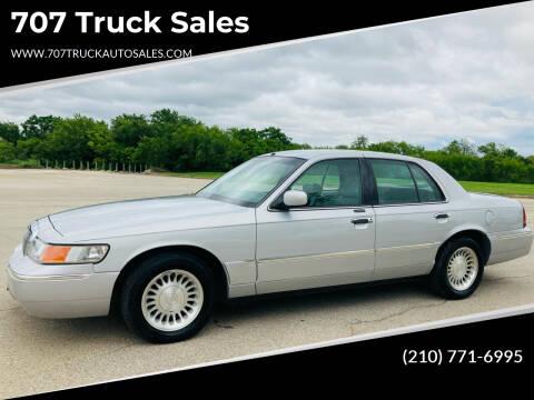 2000 Mercury Grand Marquis for sale at 707 Truck Sales in San Antonio TX