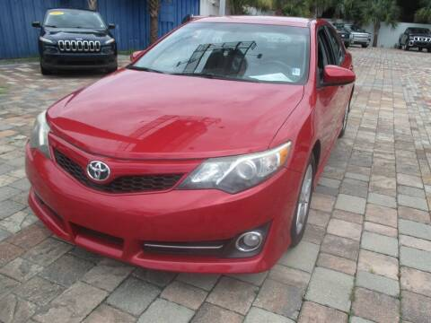 2012 Toyota Camry for sale at Affordable Auto Motors in Jacksonville FL
