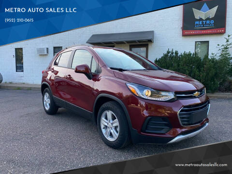 2021 Chevrolet Trax for sale at METRO AUTO SALES LLC in Blaine MN