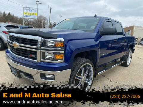 2014 Chevrolet Silverado 1500 for sale at E and M Auto Sales in East Dundee IL