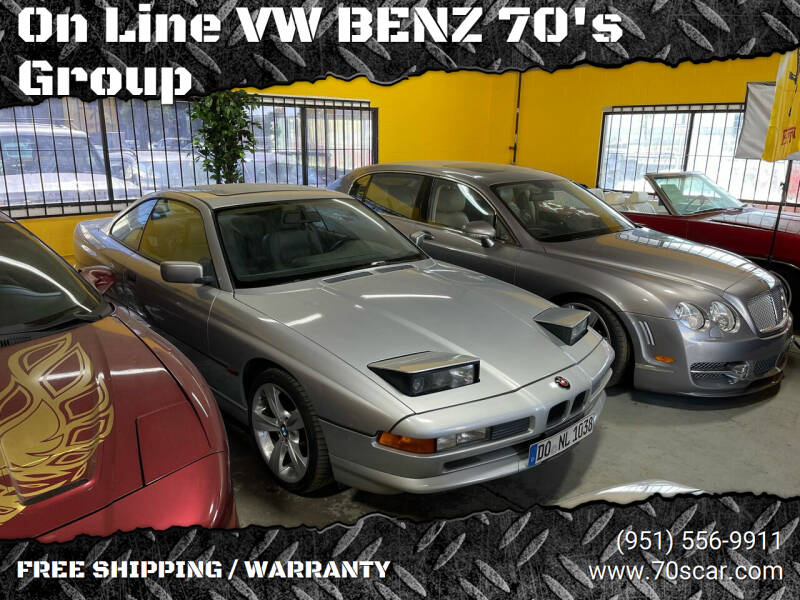 1997 BMW 8 Series for sale at OnLine VW-BENZ.COM inc in Warehouse CA