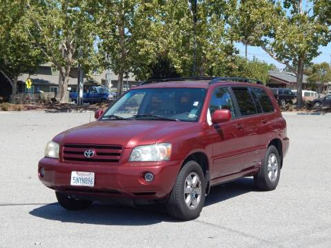 2005 Toyota Highlander for sale at Crow`s Auto Sales in San Jose CA