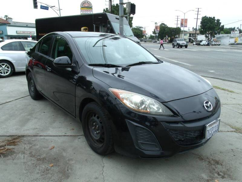2011 Mazda MAZDA3 for sale at Hollywood Auto Brokers in Los Angeles CA