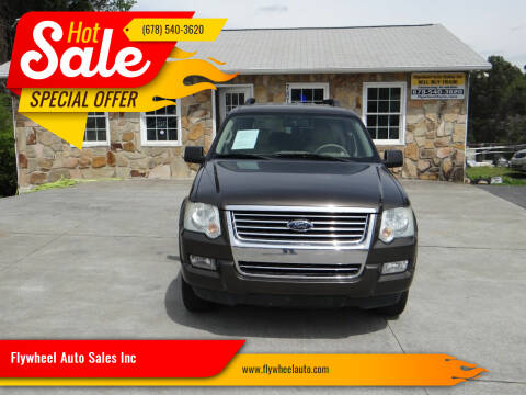 2008 Ford Explorer for sale at Flywheel Auto Sales Inc in Woodstock GA