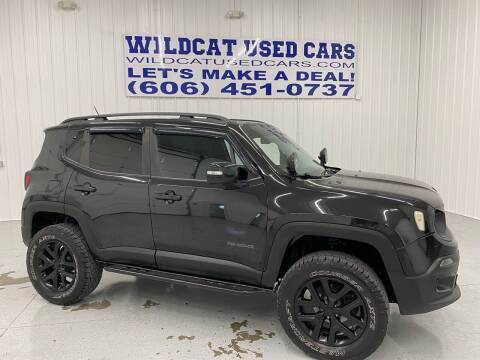 2016 Jeep Renegade for sale at Wildcat Used Cars in Somerset KY