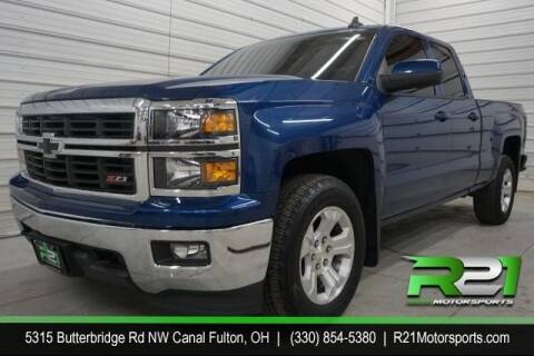 2015 Chevrolet Silverado 1500 for sale at Route 21 Auto Sales in Canal Fulton OH