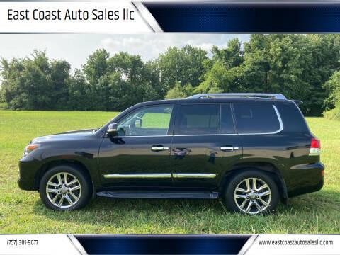 2014 Lexus LX 570 for sale at East Coast Auto Sales llc in Virginia Beach VA