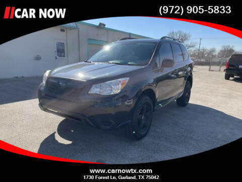 2016 Subaru Forester for sale at Car Now in Dallas TX