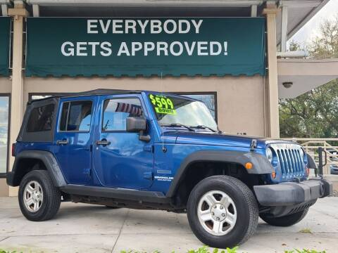 2010 Jeep Wrangler Unlimited for sale at Dunn-Rite Auto Group in Longwood FL