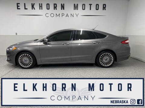 2014 Ford Fusion for sale at Elkhorn Motor Company in Waterloo NE