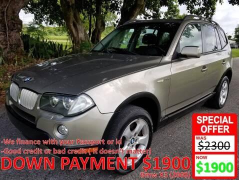 2008 BMW X3 for sale at AUTO COLLECTION OF SOUTH MIAMI in Miami FL