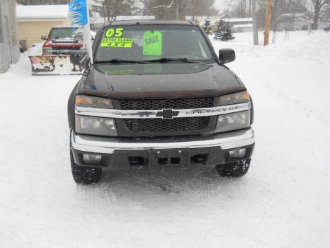 2005 Chevrolet Colorado for sale at Shaw Motor Sales in Kalkaska MI