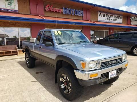 1989 Toyota Pickup for sale at Ohana Motors in Lihue HI