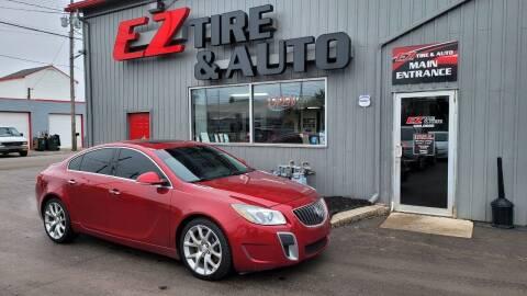 2012 Buick Regal for sale at EZ Tire & Auto in North Tonawanda NY