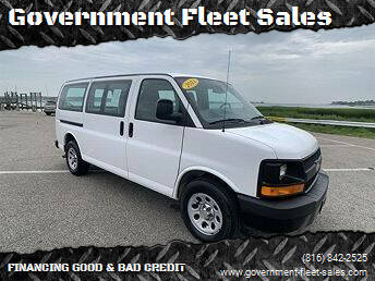 2009 Chevrolet Express Passenger for sale at Government Fleet Sales in Kansas City MO