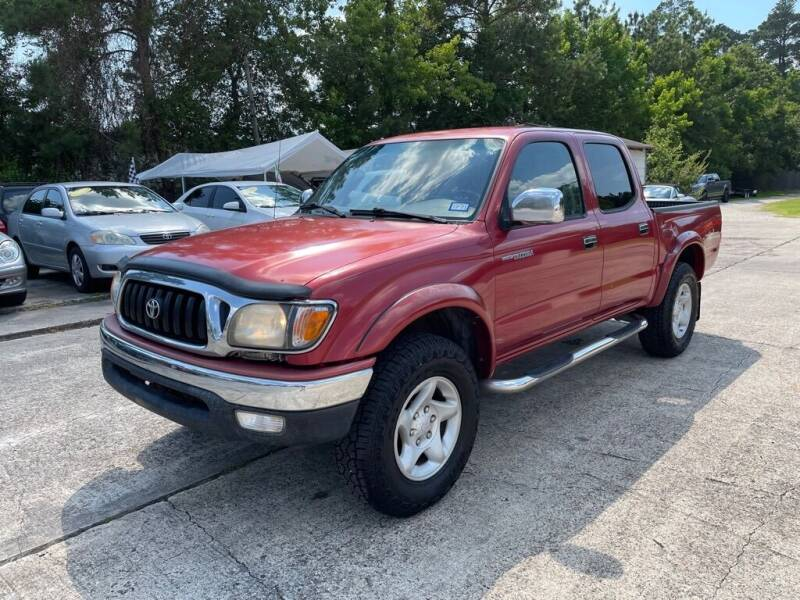 2003 Toyota Tacoma for sale at AUTO WOODLANDS in Magnolia TX