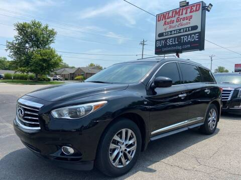2014 Infiniti QX60 for sale at Unlimited Auto Group in West Chester OH