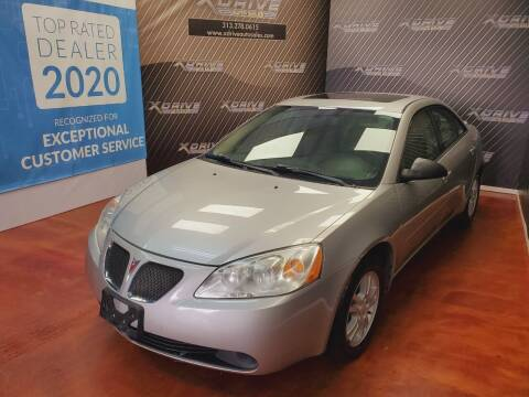 2006 Pontiac G6 for sale at X Drive Auto Sales Inc. in Dearborn Heights MI