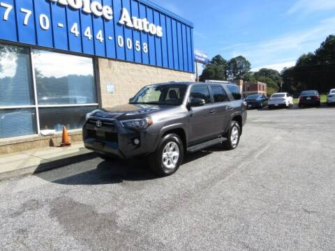 2020 Toyota 4Runner for sale at 1st Choice Autos in Smyrna GA