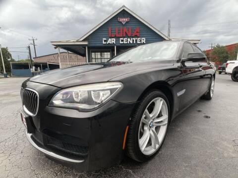 2015 BMW 7 Series for sale at LUNA CAR CENTER in San Antonio TX