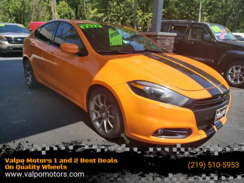 2013 Dodge Dart for sale at Valpo Motors 1 and 2  Best Deals On Quality Wheels in Valparaiso IN