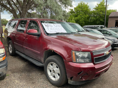 2007 Chevrolet Suburban for sale at Continental Auto Sales in White Bear Lake MN