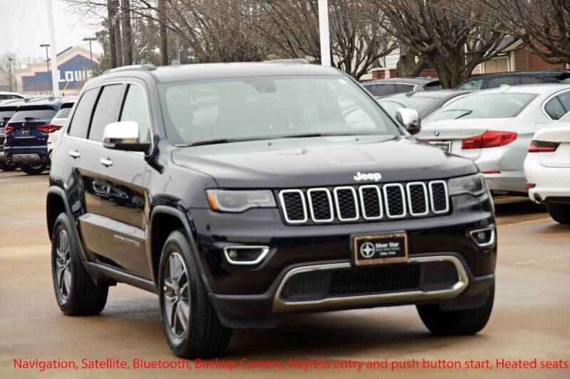 2019 Jeep Grand Cherokee for sale at Silver Star Motorcars in Dallas TX