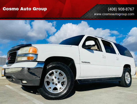 2000 GMC Yukon XL for sale at Cosmo Auto Group in San Jose CA